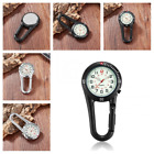 Carabiner Pocket Fob Watch Belts Clip On Backlight Doctors Nurses Accessories