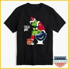 Grinch NFL Official Team Football Kansas City Chiefs T-Shirt Size S-5XL $9.99 USD on eBay
