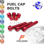 1 Set Fuel Gas Tank Cap Bolts For Triumph Daytona 675 R ABS 2014-17 Daytona 675R $16.09 USD on eBay