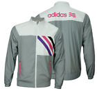 Adidas Mens Fashion Performance Lined Woven Colorful Rain Jacket Color Options