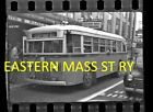 EASTERN MASS STREET RAILWAY NEGATIVE BUS 910 ON THE STAFFORD RD LINE 1950