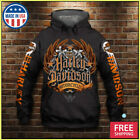 FREESHIP 3D HOOODIE Harley Davidson Motorcycle Pullover Hoodie Made In USA S-5XL $47.99 USD on eBay