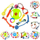 AM_ EG_ Funny Cotton Rope Knot Molar Teeth Cleaning Chewing Trainning Pet Toy Se