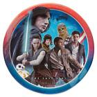 Star Wars Episode 8 The Last Jedi Lunch Plates 8 Count Birthday Party Supplies