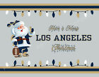 LOS ANGELES RAMS Style CHRISTMAS Photo Picture SANTA CLAUS PRINT 8x10 or 11x14 $12.95 USD on eBay