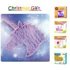Pin and String Art Starter Kit Kids/Adult Thread Craft DIY Great Christmas Gift