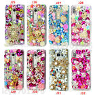Bling Diamonds Handmade soft Cases back Phone Covers & Crystals strap For Redmi