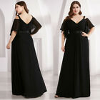 Ever-Pretty Cold Shoulder Long Evening Prom Dress Formal Cocktail Party Gowns US