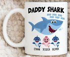 Personalized Daddy Shark Gifts Daddy Doo Doo Doo Mug Baby Shark Song Funny