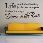 Removable Word Art Vinyl Wall Sticker Quote Mural Home Kitchen Decal Room Decor.