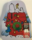 SNOOPY Christmas Boxers & Metal COIN BANK Mens Small Medium Large Charlie Brown