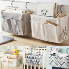 Bed Bedside Storage Organiser Holder Tidy Hook Pocket Shelf Bunks Cabin Chair