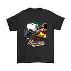Minnesota Wild Ice Hockey Snoopy And Woodstock NHL Black T-Shirt For Fans S-6XL $17.99 USD on eBay