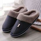 Winter Womens Mens Slippers Indoor Outdoor Mules Plush Lined Warm House Shoes UK
