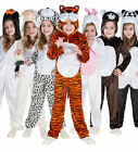 Girls & Boys Animal World Book Day Week Halloween Fancy Dress Costume Outfit