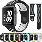 Apple Watch Nike+ i Watch Series 4/3/2/1 Replacement Silicone Watch Band Sports image