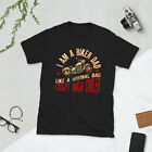 I Am A Biker Dad T-Shirt - Motorcyle Shirt - Cool Dad Gift - Vintage Motorcycle