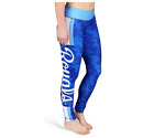 FOCO MLB Women's Kansas City Royals Team Stripe Leggings on Ebay