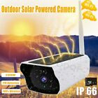 1080P HD Wireless Solar Outdoor Powered IP Camera WiFi Home Security Camera