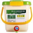 2X(12L Compost Bin Recycle Composter Aerated Compost Bin PP Organic HomemadR9P5)