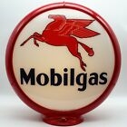 "MOBILGAS 13.5"" Gas Pump Globe - SHIPS FULLY ASSEMBLED! READY FOR YOUR PUMP!!"
