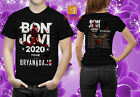 Bon Jovi 2020 Tour With Bryan Adams Merch Concert T-Shirt Unisex S-5XL image