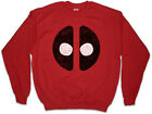 MUTANT MASK Sweatshirt Pullover Symbol Superhero Comic Ryan Deadpool Reynolds