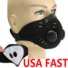 Kyпить Reusable Anti Pollution Smog Face Mask w/ Filter for Running Cycling MTB SportS на еВаy.соm