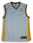 Reebok NBA Men's Indiana Pacers Blank Striped Basketball Jersey, White on eBay