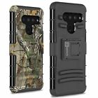 CoverON LG V50 ThinQ Holster Case with Belt Clip Kickstand Phone Cover + Screen