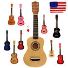 """New 21"""" Beginners Kids Acoustic Guitar 6 String w/ Pick Children Gift  5 Color"""