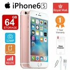 NEW Apple iPhone 6s 64GB Factory Unlocked LTE Smartphone IOS Mobile Plus Gift UK