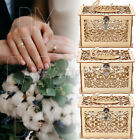 Wooden Wedding Birthday New Year's Party Card Box Gift Post Boxes Holder +  * *