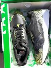PUMA  Running Sneakers XT2 Snow Splatter Black and Yellow Leather