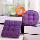 """3"""" Thick Chair Cushion Pads Seat Corduroy Round/Square Patio Car Home Office Mat"""