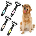 AM_ EE_ Pet Dog Cat Double-sided Grooming Comb Brush Rake Fur Trimming Hair Remo