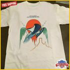 FREESHIP Vintage 1974 THE EAGLES T Shirt Concert Tour 1970's Rock Band White TEE image