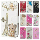 For Sky Platinum D5 E5 F5 X A57 B5 5.0M A4Diamonds leather Wallet Cases Covers