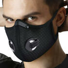 Anti Dust Haze Half Face Cover Activated Carbon Filter Mouth-Cover Ourtdoor -USA