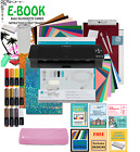 Silhouette CAMEO 4 Machine Bundle VINYL SISER HEAT TRANSFER TOOLS ETC