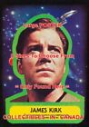 "STAR TREK 1976 #1 James Kirk = POSTER Trading Card Sticker 8 Sizes 18"" - 3 FEET on eBay"