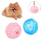 Pet Dog Puppy Elastic Leakage Food Ball Molar Interactive Play Bite Chew Toy