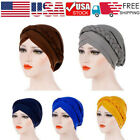 Kyпить Women Lady Muslim Braid Head Hijab Turban Wrap Cover​ Cancer Chemo Cap Hats на еВаy.соm