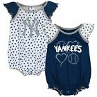 Outerstuff MLB Infants New York Yankees Play With Heart 2 pack Creeper Set on Ebay