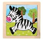 Wood Puzzle Kids Toy 3D Puzzle for Children Baby cartoon animals educational toy
