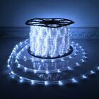 220V 240V LED Rope Tube String Fairy Lights Xmas Outdoor Garden Lamps + UK Plug