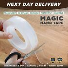 Nano Magic Clear Double Sided Grip Tape Traceless Removable Washable Adhesive  <br/> ⭐⭐⭐⭐⭐ Next Day Delivery ✅ACRYLIC GEL ✅2021 Model✅
