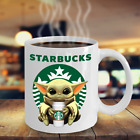 Starbucks Baby Yoda Star Wars Cute Yoda STARBUCKS Fan Coffee Mug Gift $15.27 USD on eBay