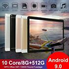 """10,1"""" Zoll 8+512GB WiFi Tablet PC 10 Core Android 9,0 Dual-SIM 8+13MP 10 Core"""