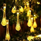 20 50 LED String Lights Outdoor Solar Garden Wedding Party Festoon Ball Bulbs